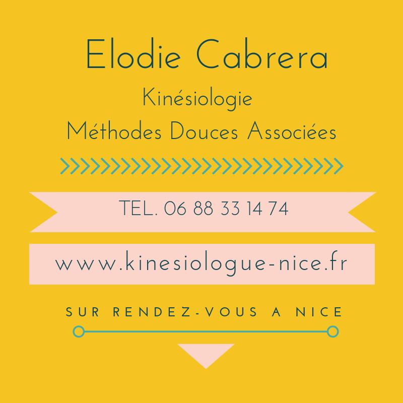 Elodie Cabrera - Kinésiologie, Niromathé & Méthodes Douces